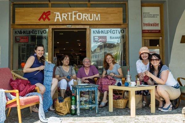 World Wide Knit in Public Day, Žilina