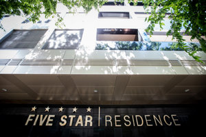 The disputed Five Star Residence