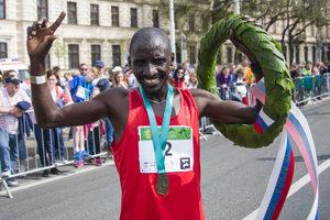 Nelson Kipkogei Cherutich won the Devín – Bratislava run on April 15, 2018 v Bratislave.