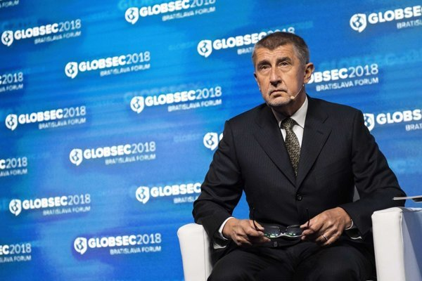 Czech PM Andrej Babiš at GLOBSEC 2018