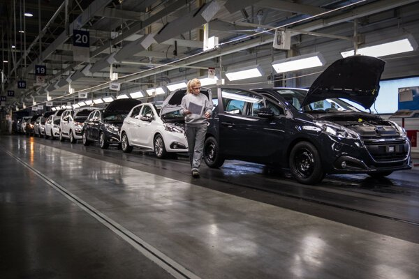 Carmakers in Slovakia produce cars mostly for export.