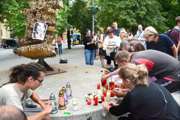 The gathering in Košice