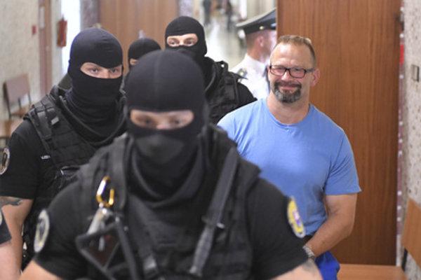 """Dušan """"Borža"""" Borženský in court, July 9"""