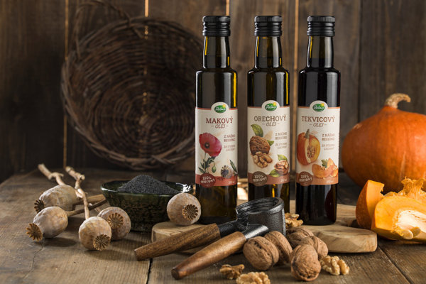 Table oils that have started to be produced in Slovakia, by the iconic Palma company.