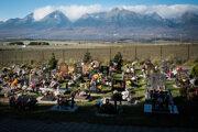 A European cemetery