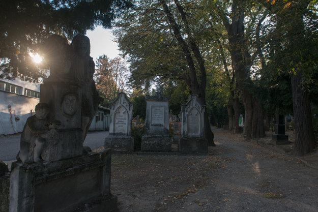 The symbolic grave, left