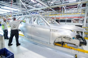 New plant of Jaguar Land Rover in Nitra