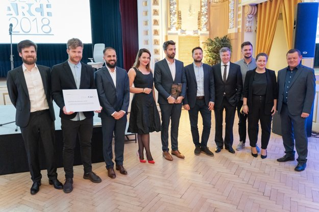 The winning team of the Vallo Sadovsky Architects studio