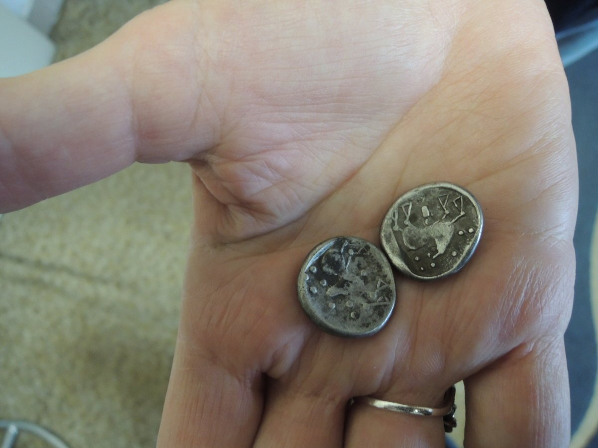 92c338216866 Archaeologists found treasure of silver Celtic coins - spectator.sme.sk