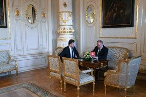 Foreign Affairs Minister Miroslav Lajčák met with President Andrej Kiska on December 4.