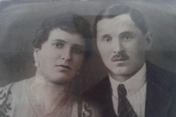 Anna Chladná and her husband Ignác