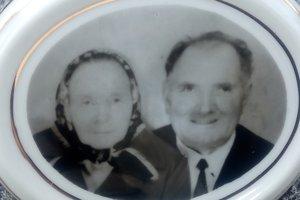 Ondrej Rapčan with his wife Elena