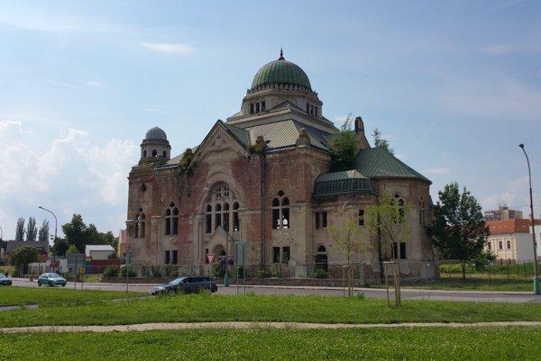 The synagogue in Lučenec