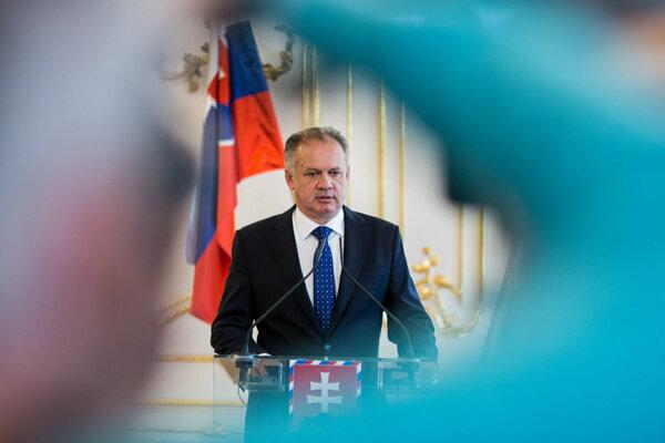 President Andrej Kiska.