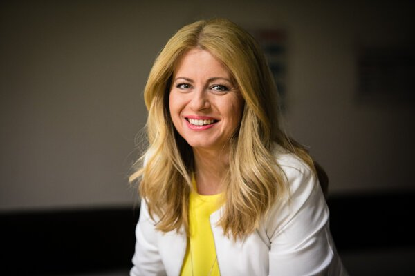 Zuzana Čaputová is the fifth Slovak president.