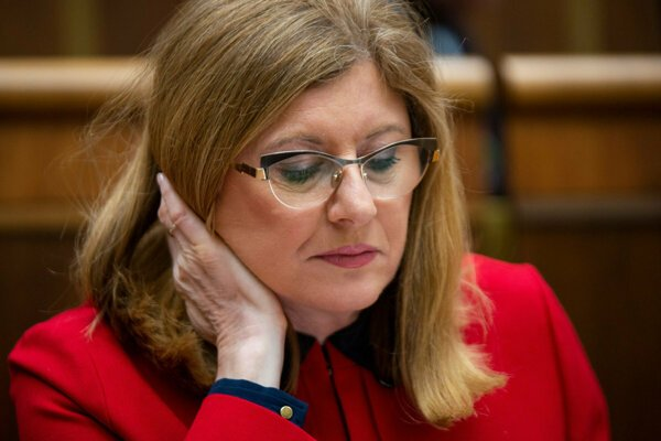 Agriculture Minister Gabriela Matečná (SNS nominee) opposes the EC's decision to suspend the special levy.