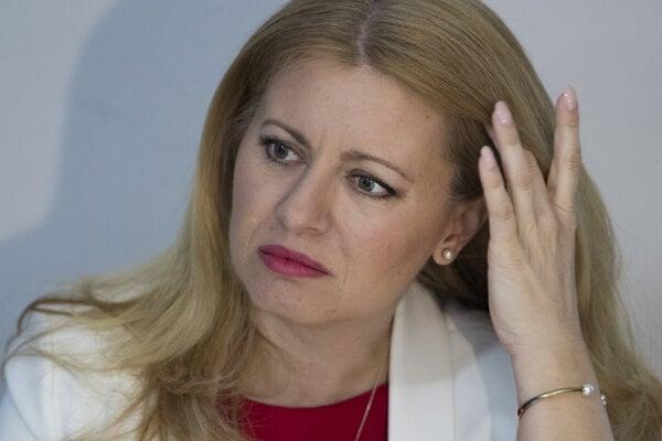 President-elect Zuzana Čaputová