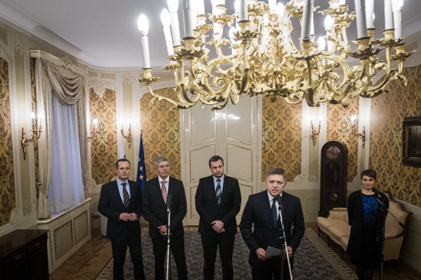 Robert Fico announced the division of ministerial chairs.