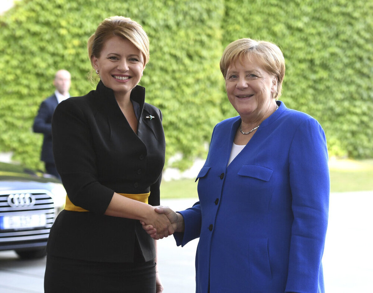 Merkel asked Čaputová about the murder of journalist