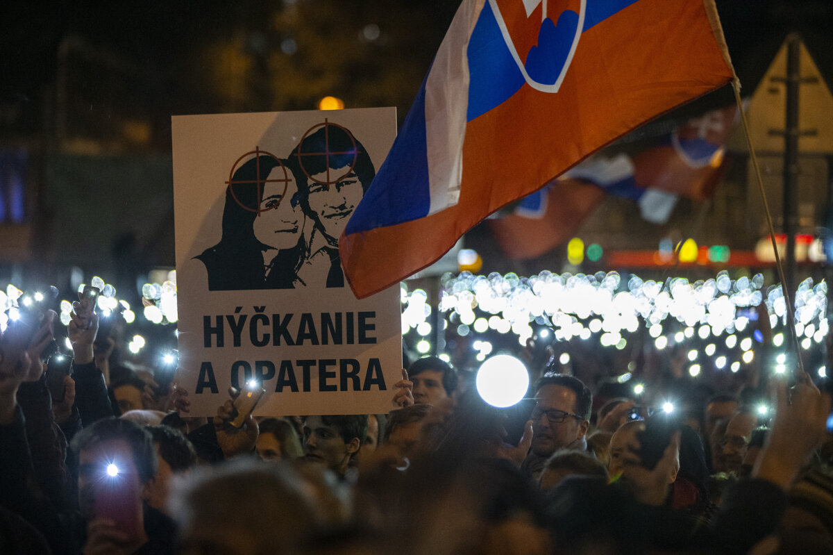Activists eye election to 'make Slovakia decent again'