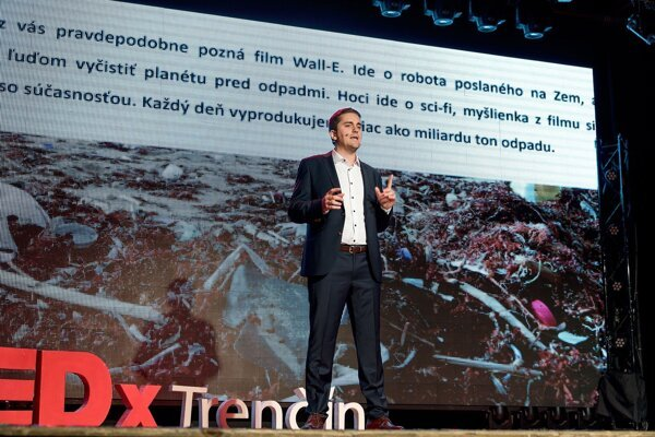 Martin Spano at TEDx Trenčín