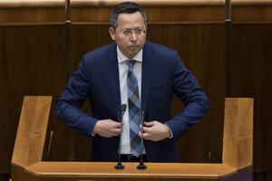 Finance Minister Ladislav Kamenický