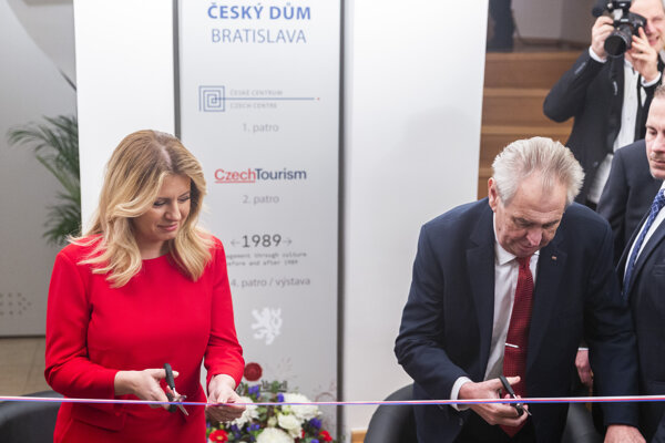 Slovak President Zuzana Čaputová is seen more trustworthy than her Czech counterpart Miloš Zeman, a Czech survey found in November 2019