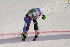 Slovakia's Petra Vlhová crosses the finish line to win an alpine ski, women's World Cup slalom in Kranjska Gora, Slovenia.
