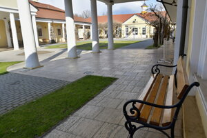 The last guests have left the Pieštany spa by the end of March. The spa will remain closed for some weeks now.