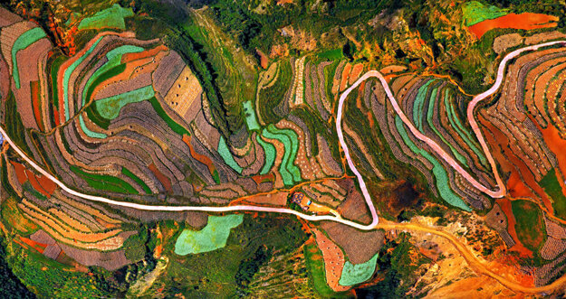 Luoxiagou Valley, China