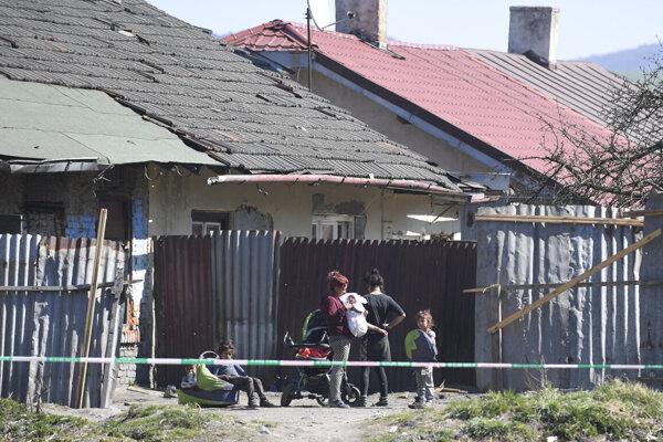 Roma settlement in Krompachy