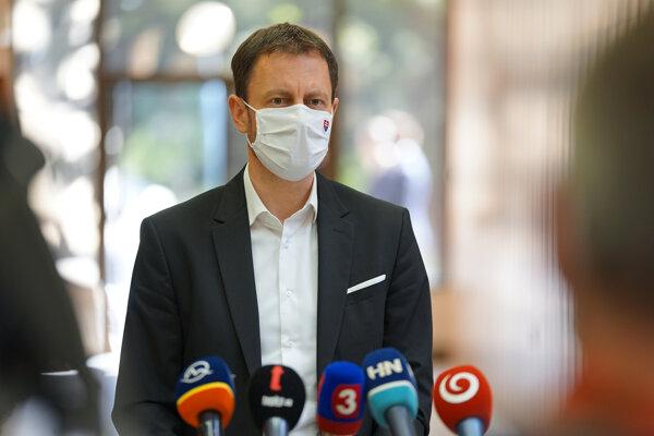 Finance Minister Eduard Heger
