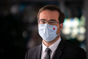 Health Minister Marej Krajčí