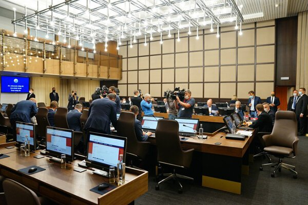 The governmental session, illustrative stock photo