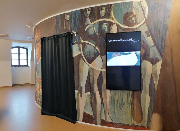 The Digital Exhibition at Bratislava Castle.