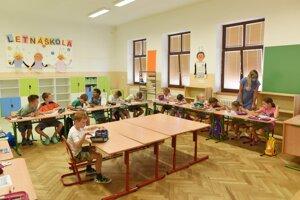 The summer school in Vlčkovce, near Trnava.