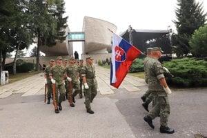 SNP celebrations in Banská Bystrica on August 29, 2020.
