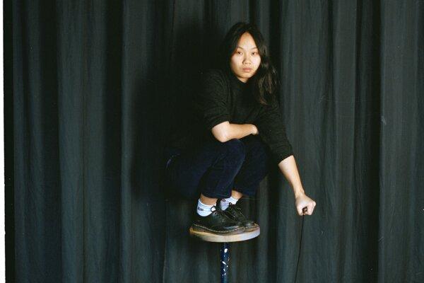 Self-portrait of Kvet Nguyen