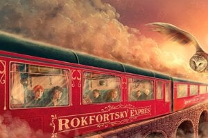 Adrián Macho has produced new Slovak covers of the Harry Potter books.