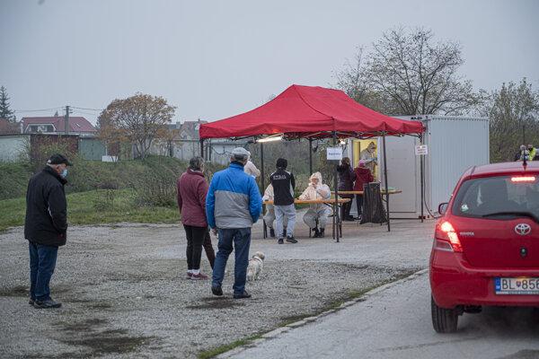 Testing in Pezinok