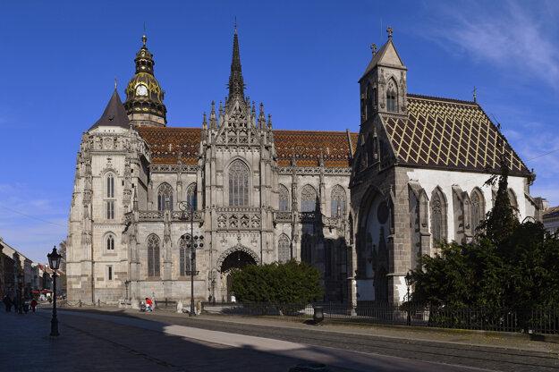 St Elisabeth Cathedral in Košice.