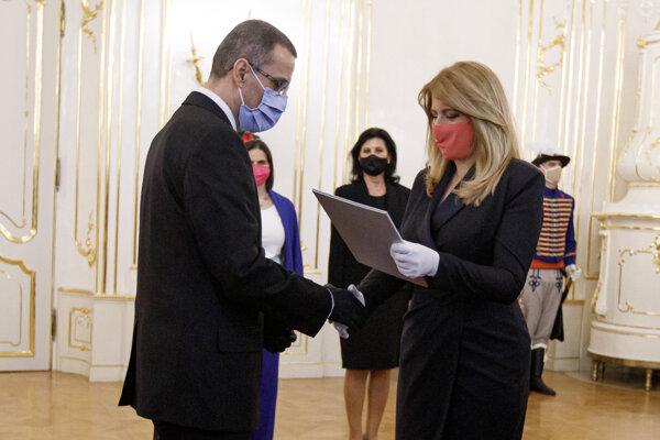 President Zuzana Čaputová appointed Maroš Žilinka as new General Prosecutor