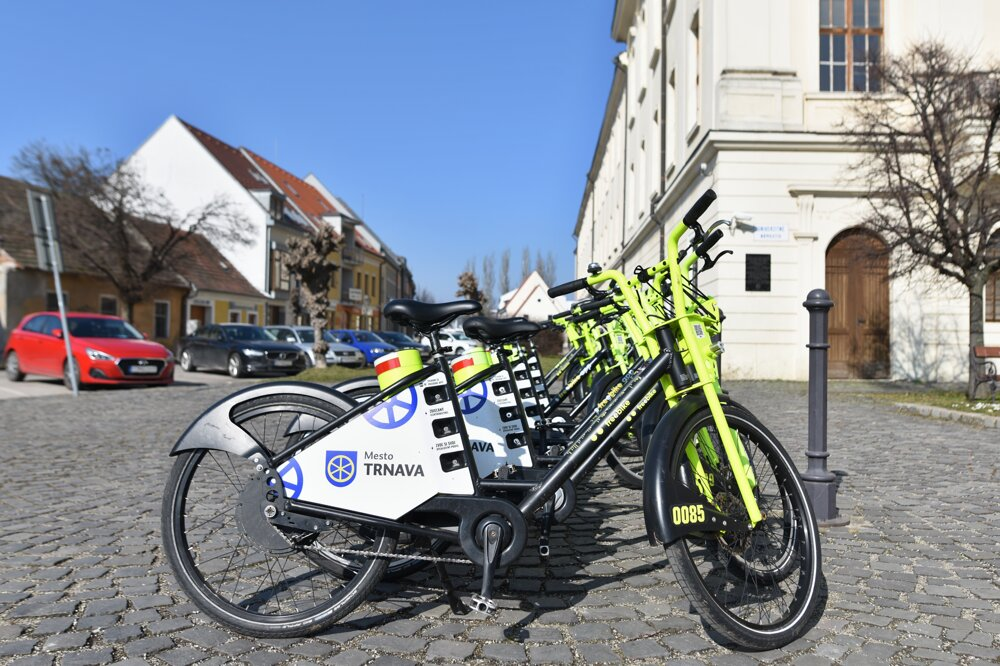 Trnava started offering shared ebikes again on March 1.