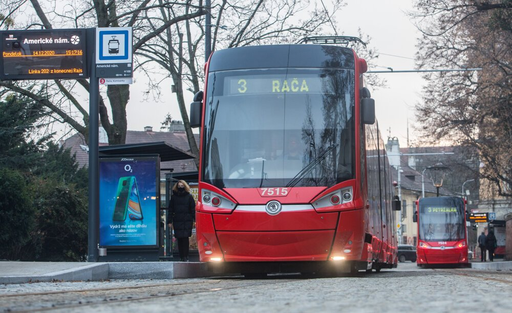 Night schedule of trams in Bratislava changes as of March 8
