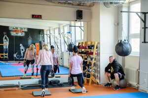 A fitness centre in Nitra