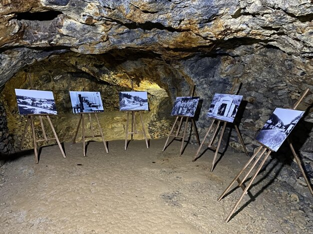 The oldest opal mines in the world, which are located in the Slanské vrchy mountains above the city of Prešov, will reopen on May 1. In the picture, you can see a gallery in the large hall of these mines.