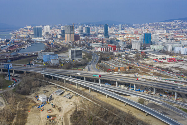 Bratislava is experiencing a development boom in the former industrial zone.