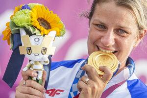 Zuzana Rehák Štefečeková won Slovakia's first medal at 2020 Summer Olympics in Tokyo.