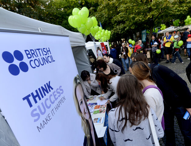The British Council opened its office in Slovakia 75 years ago.