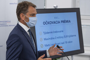 The lottery, introduced by the Finance Ministry led by Igor Matovič, should motivate people to get vaccinated against Covid.